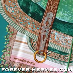 In our store http://forever-hermes.com #ForeverHermes this new with tags Hermes Paris couture silk scarf titled Selle D'Apparat Marocaine designed by Wlodek Kaminski featuring a delicate & full of artistry Morocco style horse saddle as Wall Decor for the #equestrian #dapper #horseaddict #horsebackriding #gentleman #mensfashion #menswear #menstyle #womensfashion #womenswear #Hermes #jockey #leather #horse #saddle
