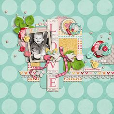 created with Tracie Stroud and Jay Day Studio Got Nothing But Love kit