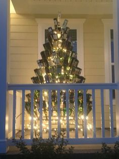 Southern porch art, let us build your custom tree.