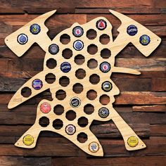 Brave Firefighter Beer Cap Map - Unique Beer Gifts for Him - Bottle Cap Holder Makes Awesome Sign! - Perfect for Firemen and Rescuers Brave Firefighter Beer Cap Map Unique Beer Gifts for Him Beer Cap Art, Beer Caps, Beer Party Decorations, Bottle Cap Art, Beer Bottle, Firefighter Gifts, Firefighter Family, Beer Gifts, Best Beer