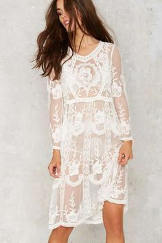 Tavia Lace Midi Dress - Dresses