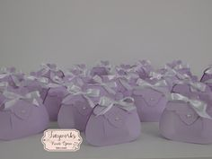 TinyWorks: Vintage Bag Lilla per una Cresima