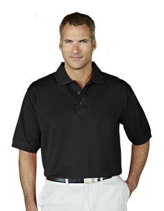 Tri-Mountain Gold Mens Double Mercerized Baby Pique Golf Shirt 450 Arlington #DoubleMercerized #Arlington #Golf Men