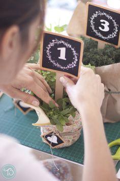 Hazlo tu mismo: Números para las mesas by Project Party Studio | Tendencias de Bodas Magazine |