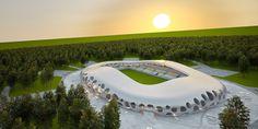 Future Architecture: OFIS Arhitekti | Bate Borisov FC, Football ...