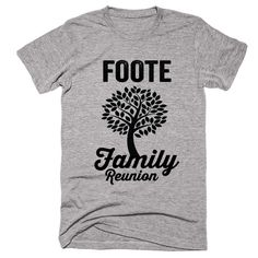 FOOTE Family Name Reunion Gathering Surname T-Shirt