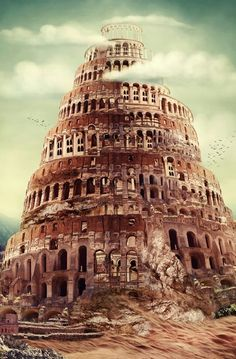 Tower of Babel//Some modern scholars have associated the Tower of Babel with known structures, notably the Etemenanki, a ziggurat dedicated to the Mesopotamian god Marduk by Nabopolassar, the king of Babylonia circa 610 BCE