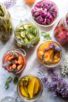 Are these not the prettiest pickled veggies you have ever seen? The post Quick Pickled Veggies. appeared first on Half Baked Harvest. Vegetable Recipes, Vegetarian Recipes, Healthy Recipes, Chutneys, Crudite Platter, Fruits And Veggies, Vegetables, Half Baked Harvest, Chefs
