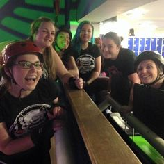 Some of our lovely members were skating and recruiting last night at Roller City we can't wait for fresh meat to start on the 24th!  #hertsrd #hellsbelles #HYHB #rollerderby #skate #rollerskate #rollerdisco #freshmeat by hertsrollerderby