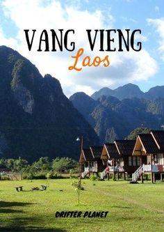 Vang Vieng in Laos #VangVieng #Laos #Tubing