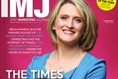 IMJ April/May Issue 2016 The Marketing, Content Marketing, Advertising Industry, Irish Times, April May, Journal, Journal Entries, Inbound Marketing, Journals