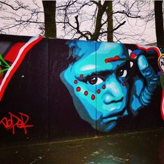 Doper #streetart Ieper, Belgium Photo courtesy of Ferdinand Feys ♥♥♥