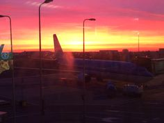 The day starts at Amsterdam Schiphol airport