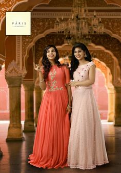 Truly fantastic.. Churidar Designs, Lehenga Designs, Indian Gowns, Indian Outfits, Gown Party Wear, Frock Dress, Beautiful Bridesmaid Dresses, Anarkali Dress, Western Dresses