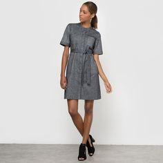 Image Belted Pinafore Dress R essentiel