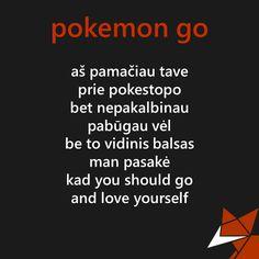 Geležinė Lapė: Pokemon GO