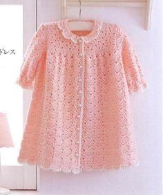 Girls this is beautiful. Point crochet dress range - Crochet Designs Free