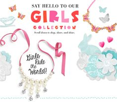 The Little Girls' Collection has arrived! Shop at www.stelladot.co.uk/clarewatkins