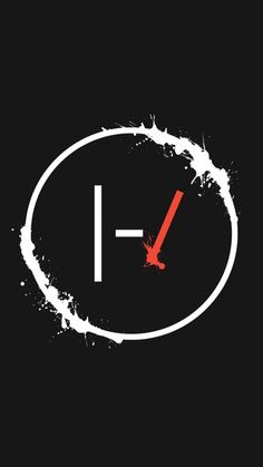 Twenty One Pilots Iphone background (with some paint added) : twentyonepilots
