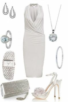 Pure White Cocktail Dress