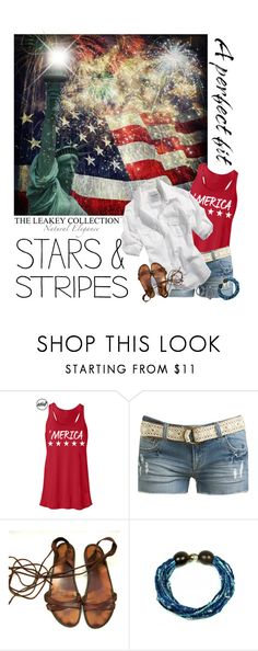 """4th Of July With The Leakey Collection"" by cindycook10 ❤ liked on Polyvore featuring Wet Seal and leakeycollection"
