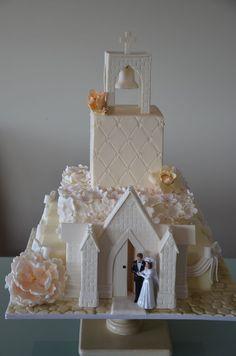 Church wedding Cake