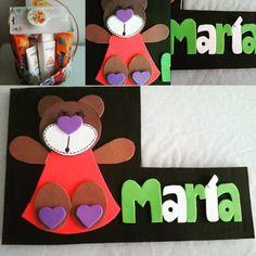 Otro bebe más con nuestro sello :) #handmade #hechoamano #cheicositas #gomaeva #foamy #personalizado #nombre #babyshower