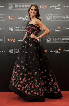 Goya Toledo in Oscar de la Renta #SanSebastiánFilmFestival #63SSIFF