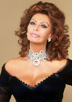 Sophia Loren ~ An Ageless Beauty