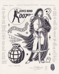 """James Bond"", 2015."