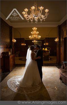 Rochester Wedding Photography at the Royal Park Hotel, Artistic wedding photography, elegant wedding photos, Great wedding photographers in Detroit  #ArisingImages #WeddingPhotography #Rochester #Michigan #Wedding #BrideAndGroom #Kiss #RoyalParkHotel #Romance #ModernTrousseau