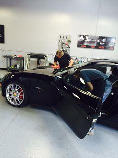 Ferrari Paint Rejuvenation Engine Detailing Car Automatic Wash Services