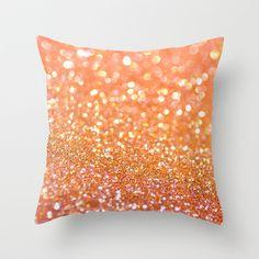 Apricot Honey Throw Pillow
