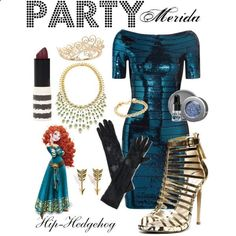 Party Merida Disney outfit