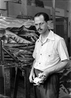 Thomas Hart Benton, 1938, photo by Alfred Eisenstaedt © Time Inc.