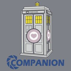In honor of the new companion tonight. Doctor Who Portal Companion Cube