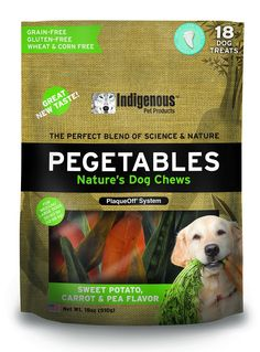Pegetables Mixed 18-Ounce Value Size Dental Chew, Medium * Special dog product just for you. See it now! : Dog treats
