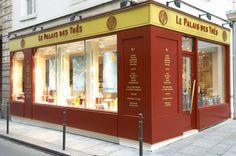 Le Palais des Thés, Tea Shop, 64, rue Vieille du Temple 75003 Paris