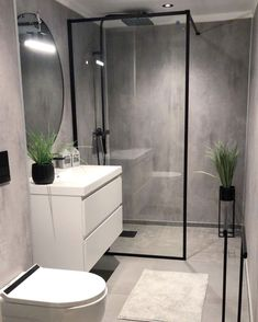 Svanesjø Nelly - Walk in dusj sort matt – Nygaard Bad Small Bathroom Interior, Bathroom Design Luxury, Bathroom Renos, Modern Bathroom Design, Bathroom Styling, White Bathrooms, Luxury Bathrooms, Master Bathrooms, Dream Bathrooms