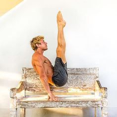 Impossible? You don't know that word, right? If you do, erase it from your mind. It's only real as long as you believe in it. @joshkrameryoga