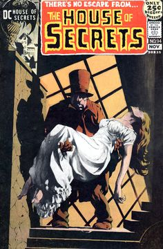 The House of Secrets  # 94 - Cover by Bernie Wrightson.