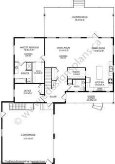 House plan 2011555 country style bi level with side for Edesign plans