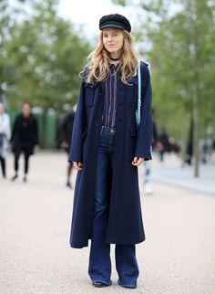 Mandatory Credit: Photo by Silvia Olsen/REX/Shutterstock (5140779ab) Alex Carl Street Style, Spring Summer 2016, London Fashion Week, Britain - 21 Sep 2015