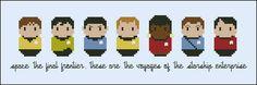 Star Trek - The Original Series - Cross Stitch Patterns - Products
