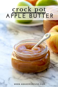 Like magic your slow cooker or Instant Pot will turn a bounty of apples into a smooth, deeply colorful and flavorful spread with this recipe for crock pot apple butter. #slowcooker #crockpot #applebutter #instantpot #abakershouse #apples #autumn #harvest #fruit #recipe Fruit Salad Recipes, Jelly Recipes, Apple Recipes, Oven Recipes, Cooker Recipes, Eat Breakfast, Breakfast Recipes, Instant Pot, Slow Cooker