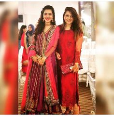 Farah talib outfit on the left
