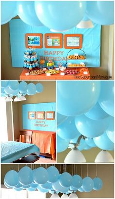 Octonauts Birthday Party Decorations, Ideas, DIY Party Favors & More - TheSuburbanMom Blue Birthday Parties, Third Birthday, Diy Birthday, Birthday Ideas, Happy Birthday, Birthday Nails, Party Favors, Birthday Party Decorations Diy, Octonauts Party
