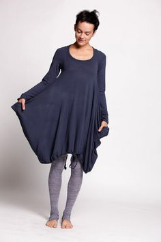 Sweater Dress With Long Sleeves by duende74 on Etsy, $189.00