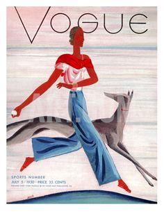 July 1930 Giclee Print by Eduardo Garcia Benito