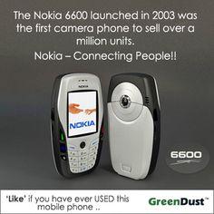 Nokia 6600 - facts